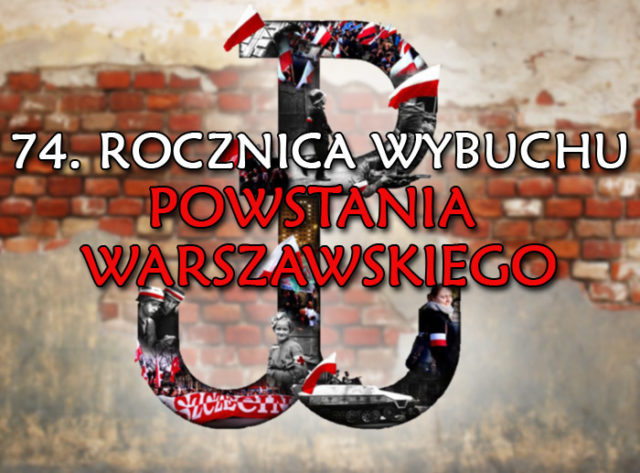 74 Anniversary Of The Warsaw Uprising