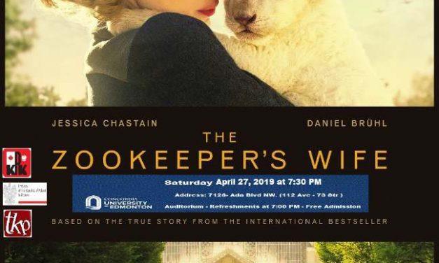 """Projekcja Filmu """"Zookeper's Wife"""""""