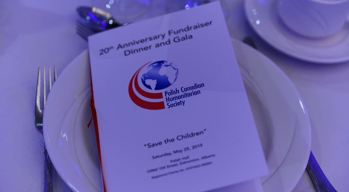 """""""Save the Children""""  Polish Canadian Humanitarian Society – 20th Anniversary  Fundraiser Dinner and Gala"""