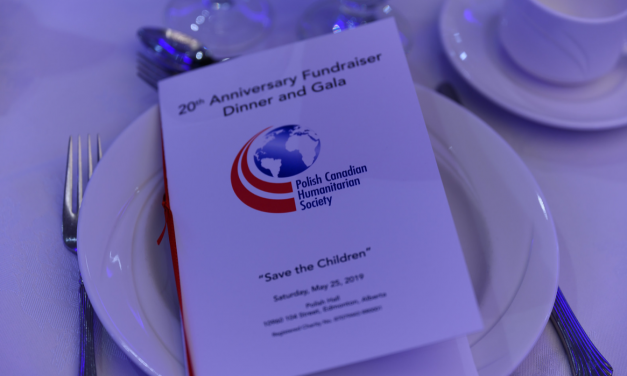 """Save the Children""  Polish Canadian Humanitarian Society – 20th Anniversary  Fundraiser Dinner and Gala"