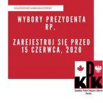 Wybory Prezydenta RP – rejestracja