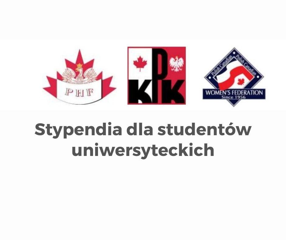 Stypendia dla studentów uniwersyteckich